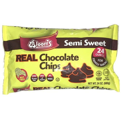 Bloom's Real Chocolate Bits 24 oz (chips)