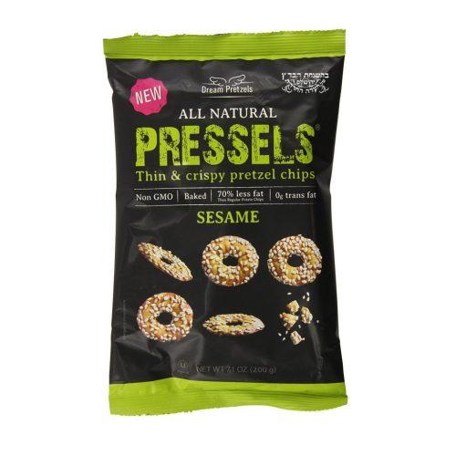 Pressels Pretzel Chips Sesame