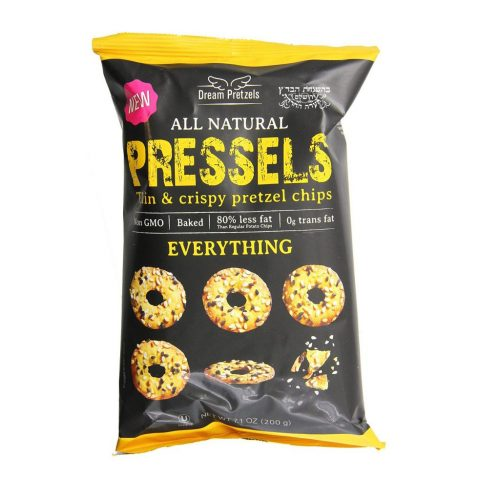 Pressels Pretzel Chips Everything