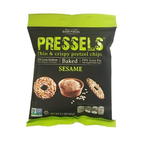 Pressels Pretzel Chips Sesame 2.1oz