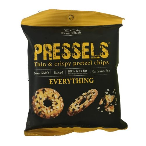 Pressels Pretzel Chips Everything 2.1oz