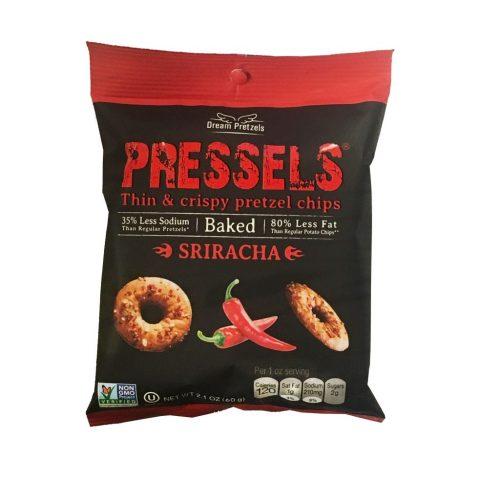 Pressels Pretzel Chips Sriracha 2.1oz