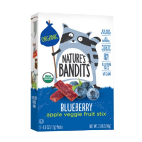 NatBandt Blueberry Apple Veggie Fruit Stix (Organic)
