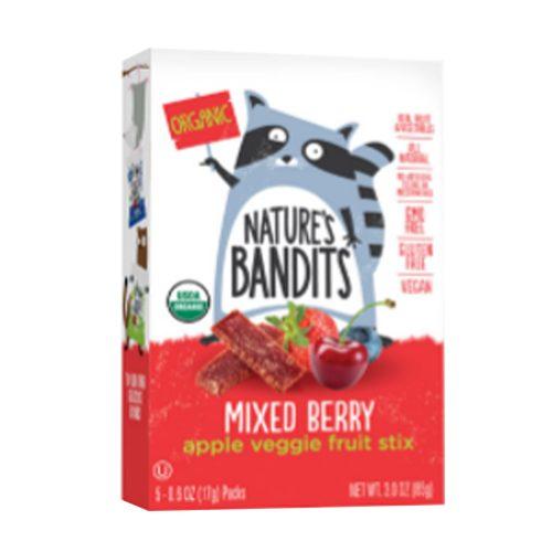 NatBandt Mixed Berry Apple Veggie Fruit Stix (Organic)