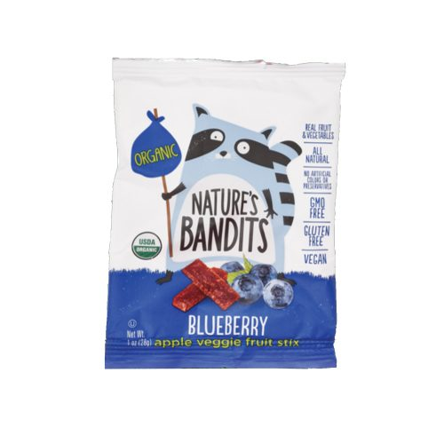 1 oz NatBandt Blueberry Apple Veggie Fruit Stix (Organic)