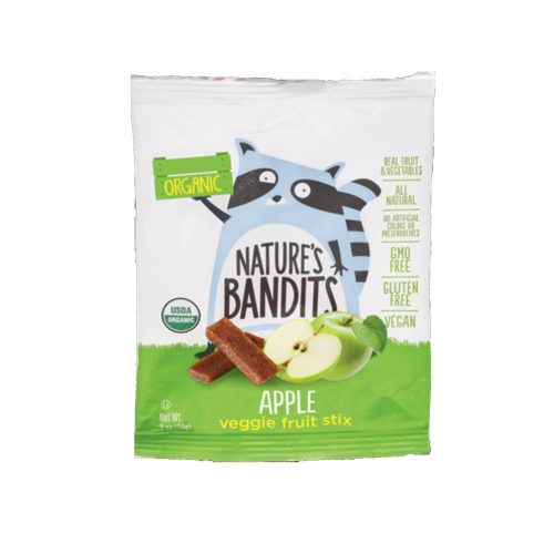 1 oz NatBandt Apple Veggie Fruit Stix (Organic)