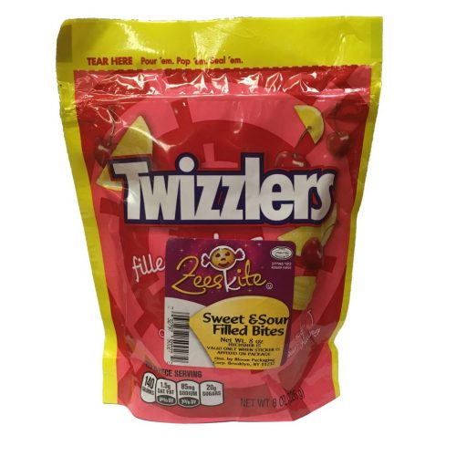 Twizzlers Sweet & Sour Filled Bites 8 oz