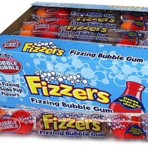 DB Fizzers Gumballs in a Tube 7pc