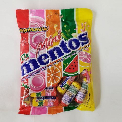 Mini Mentos Rainbow 178g