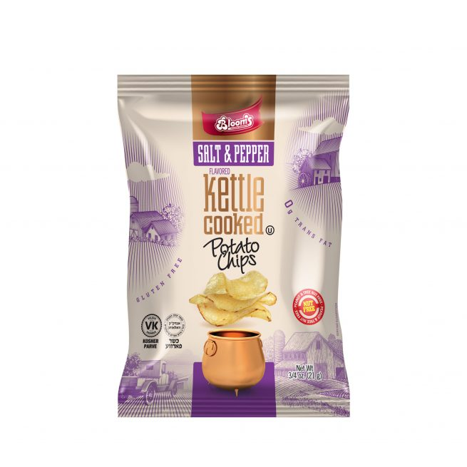 3/4 oz Kettle Chips Salt & Pepper