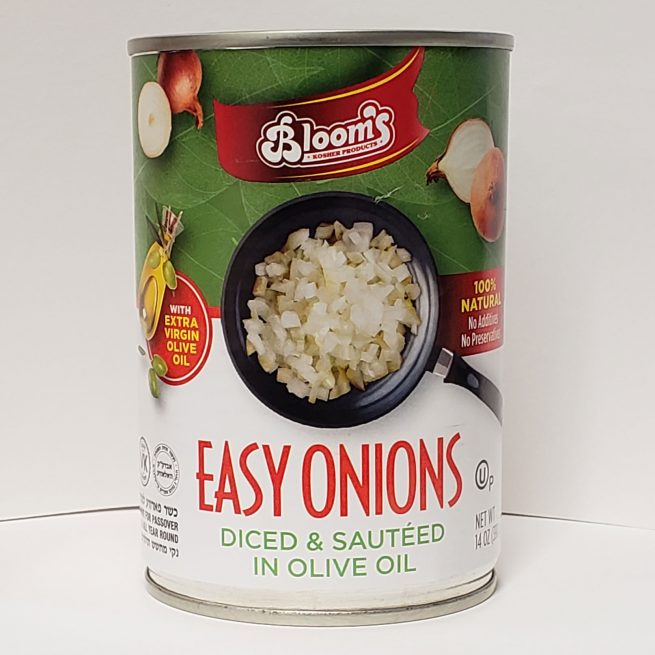 Sautéed Onions Olive Oil Can 425g