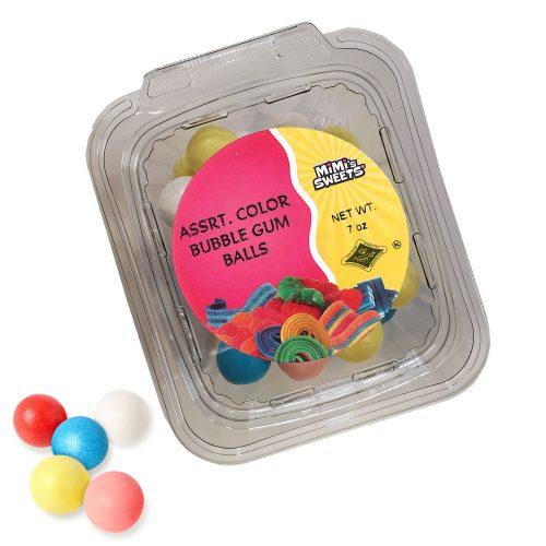 Assrt. Color Bubble Gum Balls