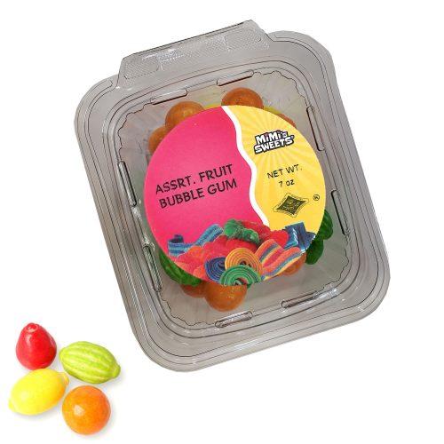 Assrt. Fruit Bubble Gum