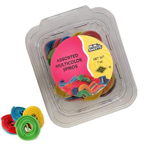 Assorted Multicolor Spiros