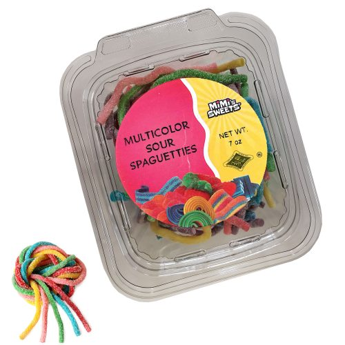 Multicolor Sour Spaguetties