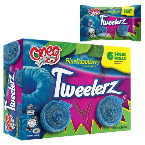 Tweelerz Sour Rolls Blue Raspberry