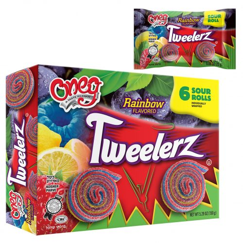 Tweelerz Sour Rolls Rainbow
